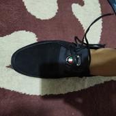 Мужские замшевые туфли 41 р-р