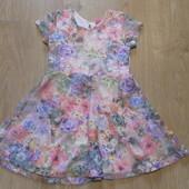Гипюровое платье Dimension состояние очень хорошее