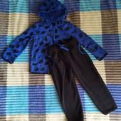 Отличный флисовый костюм на мальчика Lupilu Германия размер 98/104