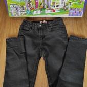 Не пропустите!!!Суперовые черные джинсики на девочку 9-12 лет.Идеал!