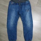 Крутые джинсы джогеры на мальчика подростка в хорошем состоянии