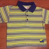 Летняя футболка 9-18 мес Для вашего ангелочка уп 15%, нп 5% скидка!
