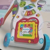 Музыкальная ходунки- каталка для малыша