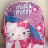 Рюкзак Hello Kitty с капюшоном от дождя для малышей!!!Sanrio!!!