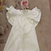 !!! Красивое белое платье без рукава!!! Смотрим замеры!! Собираем лоты!!