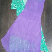 Мега красивое милое платье с удлинённый спинкой New Look pp 10