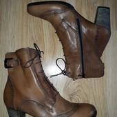Кожаные ботинки Ecco 39,40 р