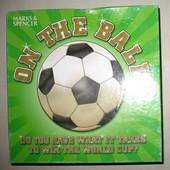 Настольная игра на футбольную тематику, английский язык