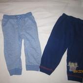 Наборчик штанишки(2 шт. одним лотом),состояние хорошее,р.86-92 на 1-1,5-2 года