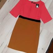 Новое платье прямого кроя XL