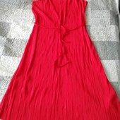 Лёгкое красное платье от Avon, размер 52/54XL