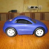 Гоночная машинка Little Tikes синяя Размер 25х13х10 высота.