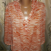 Женская нарядная шифоновая блуза Debenhams, размер 18