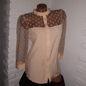 Невероятная блуза. Очень дорогая закупка. Только 2 размера в наличии.