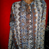 Блуза в состоянии новой, фирменная,размер М ,большемерит