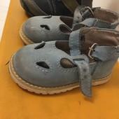 Сандали кожа малышам для первых шагов, размер 20, ортопедические