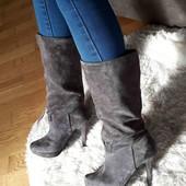 чобітки з натурального замшу
