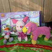 Не пропустите !!! Яркие мягкие игрушки малышам одним лотом!(3шт)