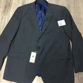 ☘ Стильный деловой пиджак от Woolmark brend (Германия), р.р. : 56-58 (EUR 29 евро) см. замеры