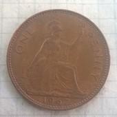 Великобритания 1 пенс 1967