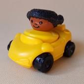 Машинка с человечком для малышей, Fisher-Price. Оригинал.
