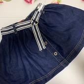 Джинсовая юбка на девочку 5 лет