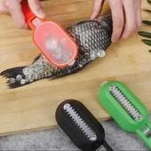 Нож-скребок для чистки рыбы