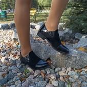 Закрытые стильные туфли в наличии!
