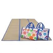 распродажа!коврик пляжный фальгированный ,бамбук.один на выбор!