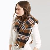 ☘ Шикарный двусторонний шарф от Tchibo (Германия), размеры: 185 на 62 см