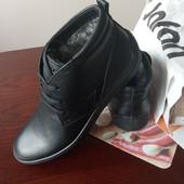 черевики зима шкіра 41 р / інші моделі в моїх лотах!