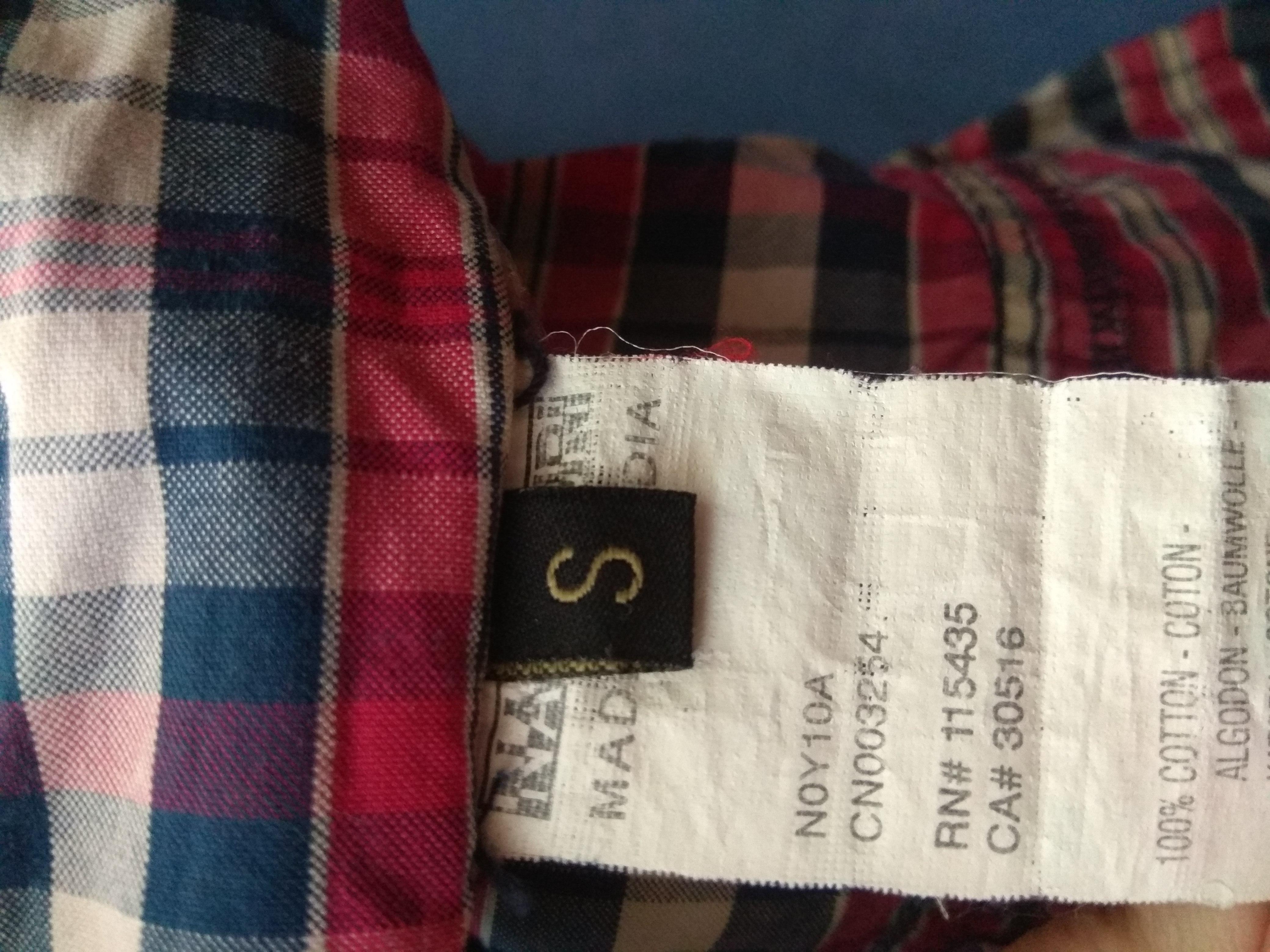 Мужская рубашка, р.S/M - Фото №5