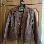 Куртка кожаная пиджак кожанка 44-46р