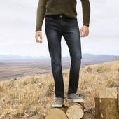 Классные мужские джинсы slim fit Livergy Германия размер 48 (32/34)