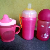 Поилки Avent + Tommee tippee