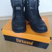 Шкіряні демісезонні черевики Darkwood, 27,5 см + подарунок!
