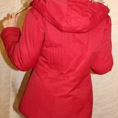 куртки зимние, с капюшоном, на силиконе. распродажа ! большой размер!