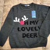 Классный лёгкий свитерок Lupilu на мальчика 4-6лет