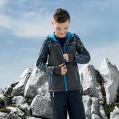 Куртка софтшел на мальчика, размер 134/140, бренд crivit
