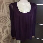 Фирменная красивая блуза в состоянии новой вещи р.10-12