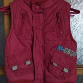 Стоп ❤ теплая жилетка для малышки,1-1,5 года❤ Много лотов!