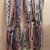 Шейные галстуки, шарфики легкие