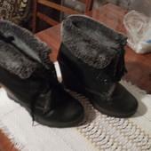 Кожаные ботиночки размер 39