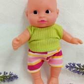 Кукла пупсик 17 см Tedi
