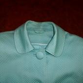 Красивенный бренд.пиджак F&F мятного цвета,Англия,размер M-L