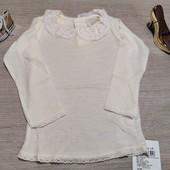 Name it!!! Лёгкая нарядная блузочка из шерсти! 92 рост!