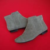 Ботинки Clarks оригинал натур замша 38 размер