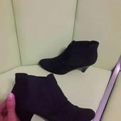 еко замша черевички
