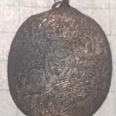 Иконка старинная нательная