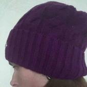 Вязанная новая шапка.Шерсть.